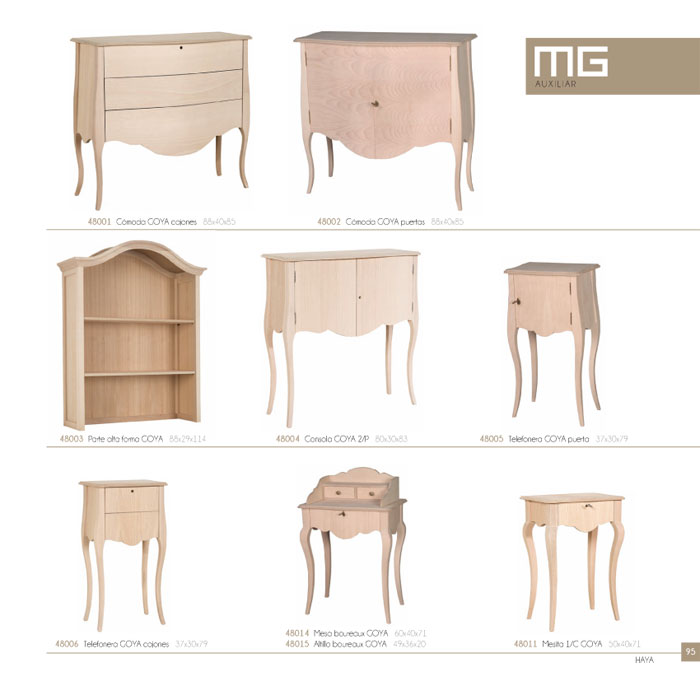 Muebles en crudo para pintar ideas de disenos for Muebles en crudo